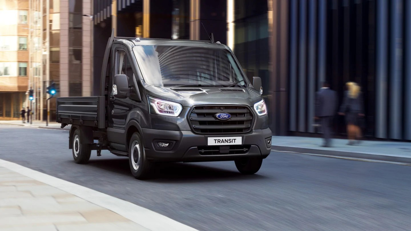 Ford Nuovo Transit Chassis 01